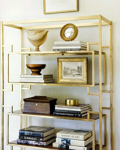 gold-etagere-shelf-color-of-the-month-october-2012-golden-autumn-gold-home-decor-ideas-and-inspiration