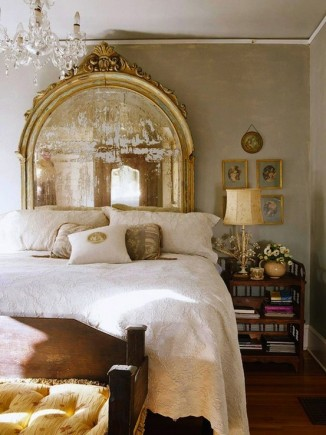 gold-mirror-headboard-color-of-the-month-october-2012-golden-autumn-gold-home-decor-ideas-and-inspiration