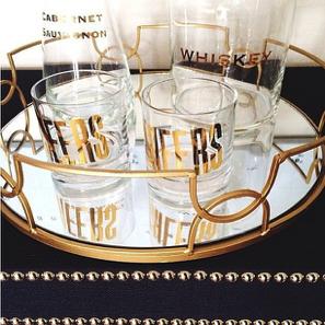 vasos oro